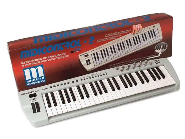 MidiTech клавиатура MidiControl (49 полных динамических клавиш)