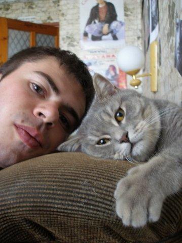 Я и кот Филя)