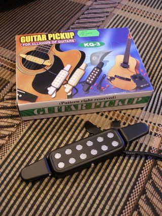 Звукосниматель для акустической гитары