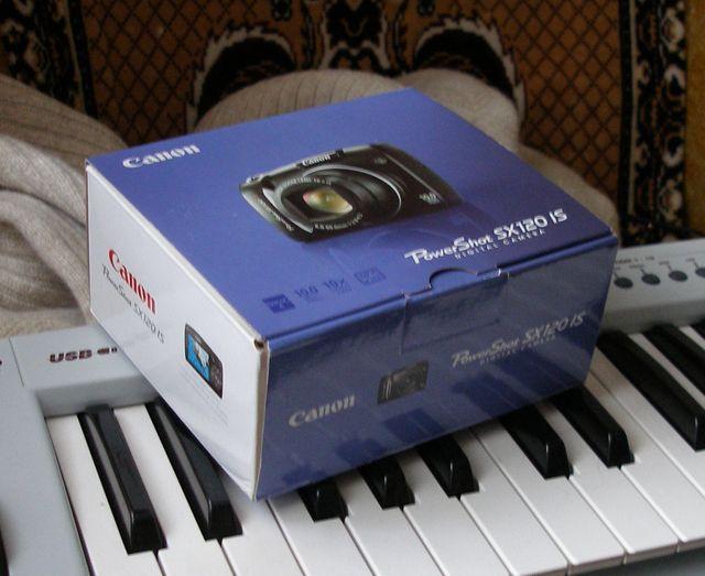 Коробка Canon SX120