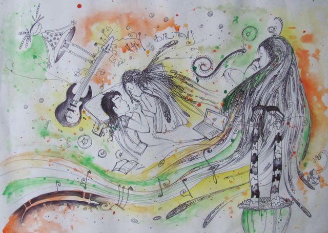 Картина Насти Карпенко