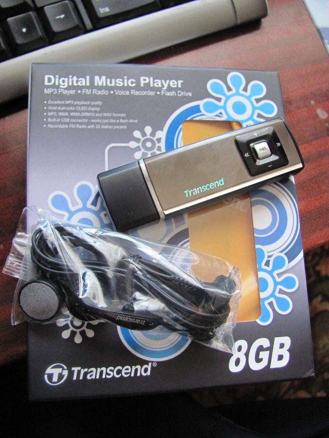 Transcend MP-320 8gb - mp3 плеер, радио