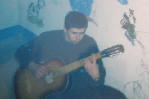 Подъезд моего друга-первого учителя по гитаре :)