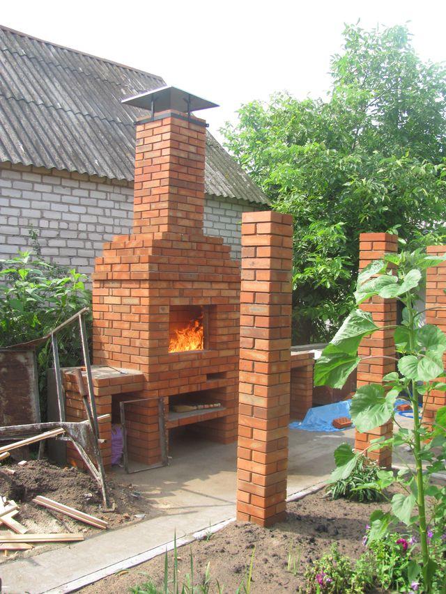 Печка-дробь-мангал
