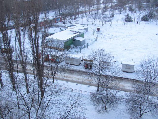 Вид на пр. Мира и сквер памяти Чернобыльцев