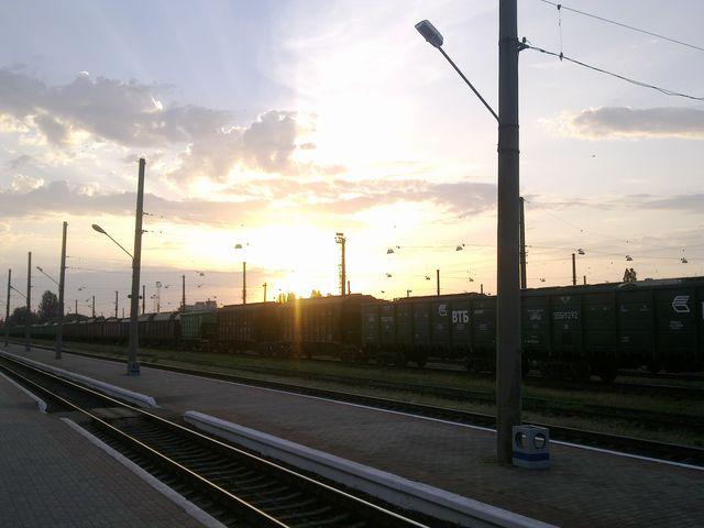 Николаев, вокзал пассажирский, 5 утра
