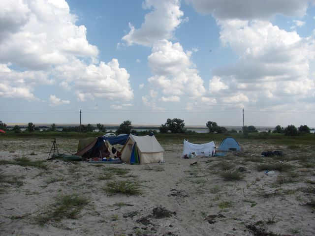 Пятипалаточный лагерь