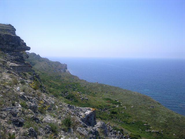 Черное море, Крым, Тарханкут
