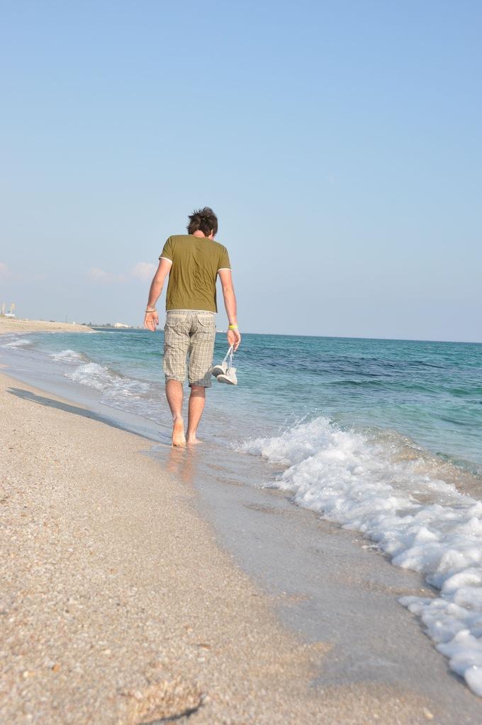 Пляж мыса Беляус