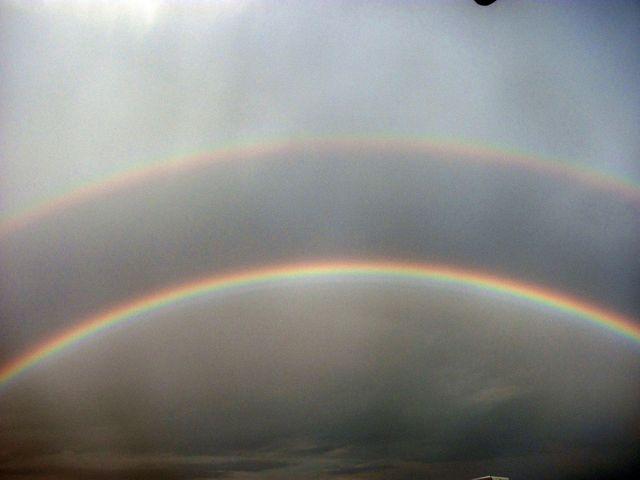 Две радуги в Коктебеле