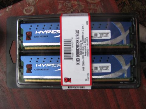 Kingston, Hyper X Genesis 4x4 gb