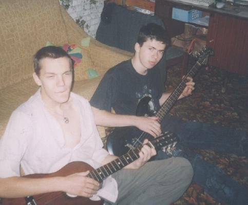 Дети совсем, примерно 2001-2002 :)