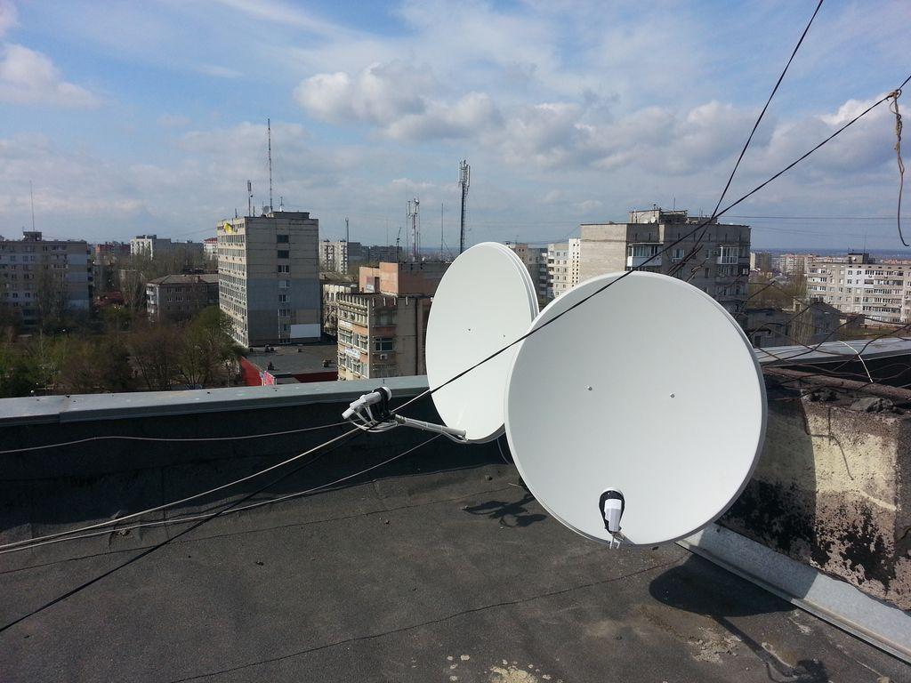 Мои спутниковые антенны