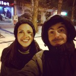 #николаев первый снег! :)