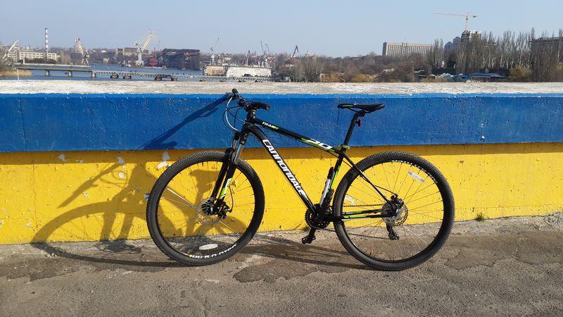 Патриотический велопейзаж