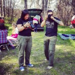 Таня, Юра, лес :) Фотографируют инстаграмщика!