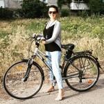 Обучение велосипедированию прошло на удивление легко :)
