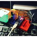Ардуино прибыло! #Arduino #схемотехника. 3 секунды на хеловорлд, 10 мин на подключение матрицы кнопок 4x4 и два часа на модуль блютус. Первый прибор готов. Ггг.