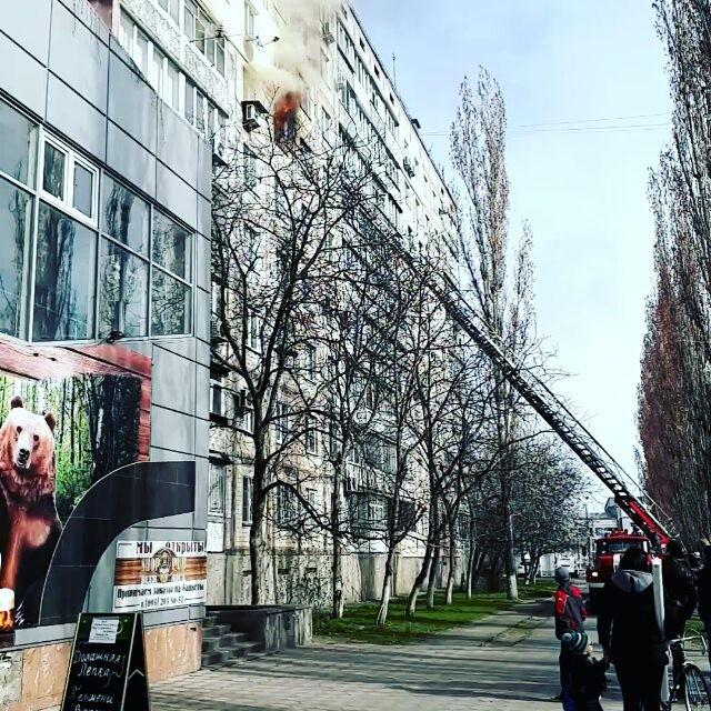 #Николаев #пожар